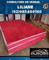 Título do anúncio: cama box casal \\\ frete gratis***