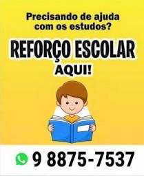 Título do anúncio: Reforço escolar infantil 1°- ao 5°- ano
