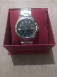 Relógio pulseira de aço à prova d'água