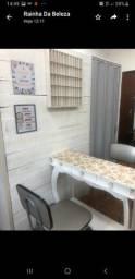 Aluguel de cadeira em salão de beleza (manicure e cabelereiro)