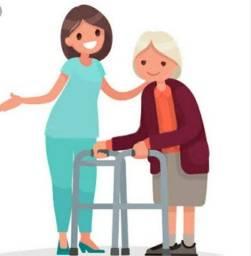 Título do anúncio: Cuidadora de idoso.