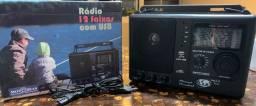 Rádio Motobras 12 Faixas USB