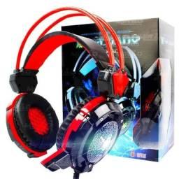 Fone Gamer Headset Xsoldado Gh-x30 Com Led