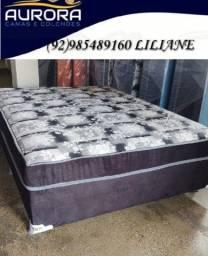 Título do anúncio: cama casal de espuma \\