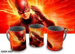 Caneca de Porcelana Sublimadas Geek The Flash