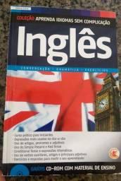 Aprenda Idiomas Sem Complicação: Inglês para iniciantes- Com CD Rom. Em ótimo estado!