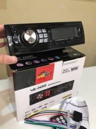 Título do anúncio: Aparelho De Som Carro Radio Automotivo Bluetooth Pendrive Sd Rádio