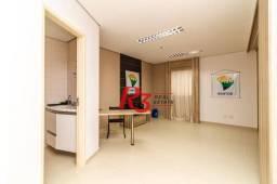 Sala, 41 m² - venda ou aluguel - Boqueirão - Santos/SP