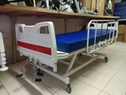 Título do anúncio: Cama Hospitalar (três manivelas)