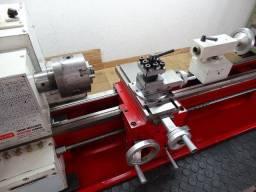 Título do anúncio: Torno de bancada Agrotama Nagano 750 x 230 mm 750w monofásico. Máquina zerada!