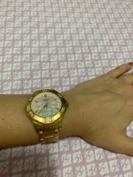 Título do anúncio: Relógio Orient Rosê e madrepérola