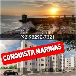 Título do anúncio: Conquiste seu Apê sem estresse no Conquista Marinas/ FALE COMIGO!