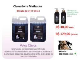 Shampoo Essência Pet - Pelos Claros ( Matizador )