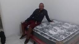 Título do anúncio:  cama casal  Pillow  ou  cama solteiro R$ 185,00 lauro de freitas