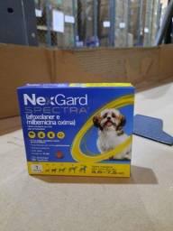 Antipulgas e Carrapatos Nex Gard Spectra (P) para Cães de 3,6 a 7,5kg - 1 Tablete