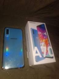 Samsung a70 usado com cara de zero