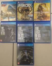 Jogos Variados - PS4