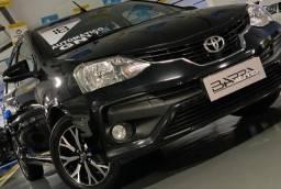 Título do anúncio: Toyota Etios Platinum Top De Linha AUT Completão Gnv 5º Multimídia Todo Revisado