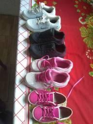 Sapatos em perfeito estado semi novos