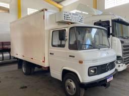 Caminhão Mb 608 freio ar hidráulica câmara fria