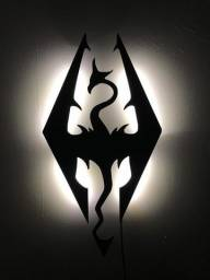 Título do anúncio: Luminária painel LED Skyrim