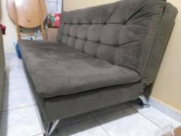 Título do anúncio: Vendo um sofá-cama semi-novo.
