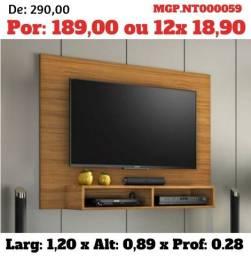 Painel de televisão até 49 Plg-Polegada-Painel de TV-Sala de Estar- Saldão em Campo Grande