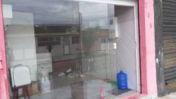Porta da vidro completa