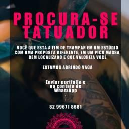 Título do anúncio: Vaga para tatuador