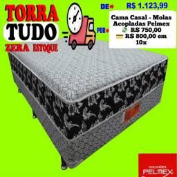 Entrega grátis de Box Casal de Molas Acopladas Pelmex