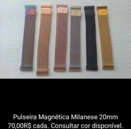 Título do anúncio: Pulseira Magnética para Amazfit Bip S