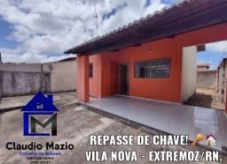 Título do anúncio: Repasse de Chave - Bairro Vila Nova - Extremoz/RN.
