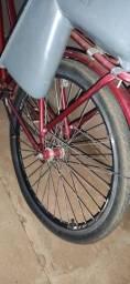Título do anúncio: Bicicleta vermelha