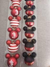 Título do anúncio: Bolas de Natal Disney Mickey