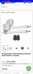 Título do anúncio: Kit Duplo Motor Portão Eletrônico Pivotante