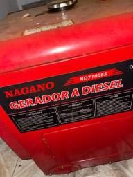 Título do anúncio: Gerador a diesel super conservado!