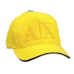 Boné A/X Armani Exchange Aba Curva Cor Amarelo