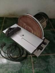 Título do anúncio: Lixadeira disco pouco usada