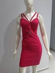 Título do anúncio: Vestido justinho rosa pink