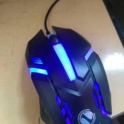 Mouse gamer 1600dpi novo na caixa
