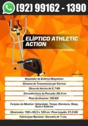 Título do anúncio: Elíptico Magnético Athletic Action 8 Nivés de Força, Entrega Em No Máximo 2 dias