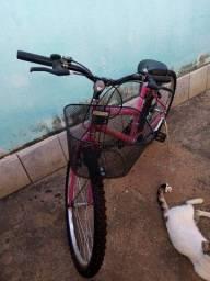 Bicicleta semi nova aro 20 450,00