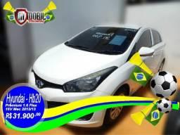 Hyundai HB20 Premium 1.6 Flex 16V Mec. - 2013