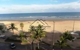 Apartamento mobiliado frente ao mar no Caiçara em Praia Grande