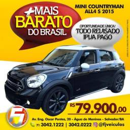 Mini cooper Countryman ALL4 S 2015 MAIS BARATO DO BRASIL - 2015