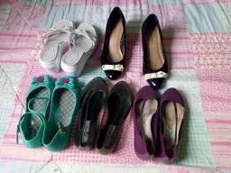 Lote de calçados