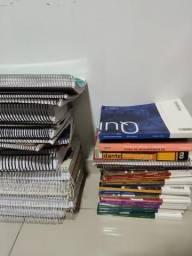 Vários livros e questões para Enem e Vestibulares