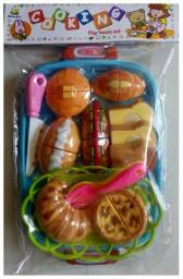 Brinquedos Diversos Modelos Velcro Cortar Frutas