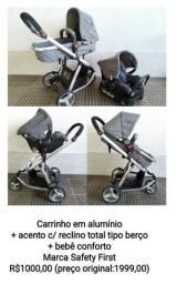 Carrinho Mobi Safety 1st Excelente Estado!
