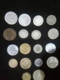 Coleção de moedas raras